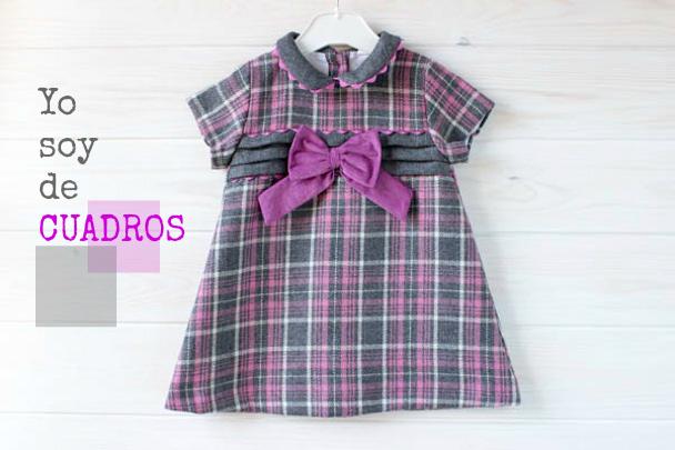 Vestidos De Cuadros Para Niñas Modernas Babynipos