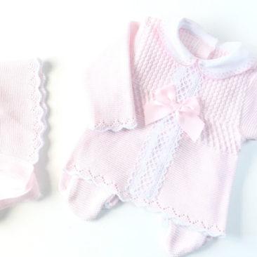 bebitu XL Rosa y Blanco-