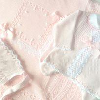 rosa y blanco-