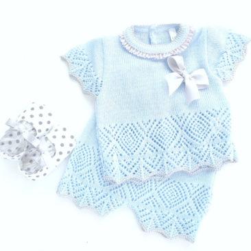azul y gris-