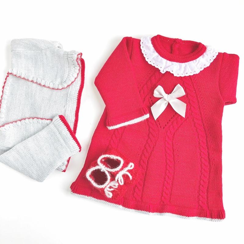 vestido natal rojo-