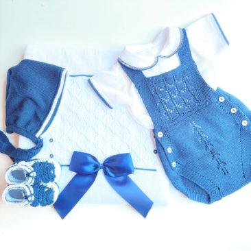 Pack Ranita Perle Azul Marino