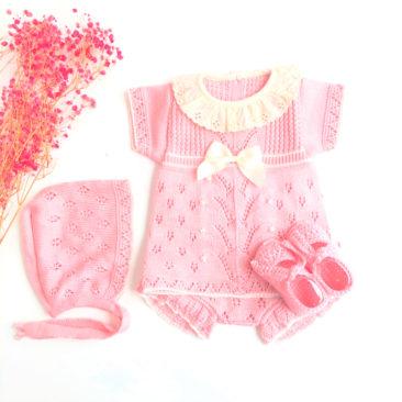 Baby Alba Rosa Empolvado