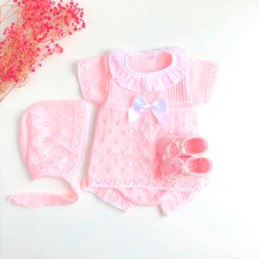 Baby Alba Rosa y Blanco